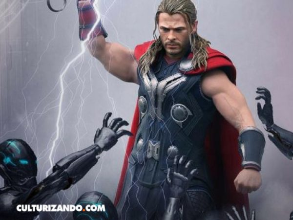 Así se prepara Chris Hemsworth para su rol como Thor (+Video)