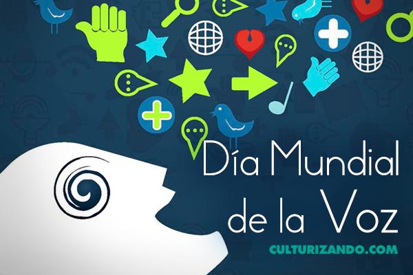 Hoy se celebra el Día Mundial de la Voz