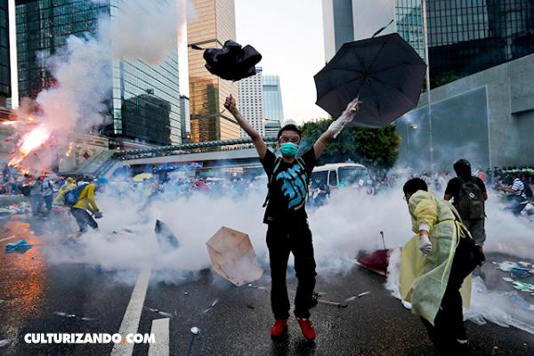 ¿Qué fue la Revolución de los Paraguas en Hong Kong?