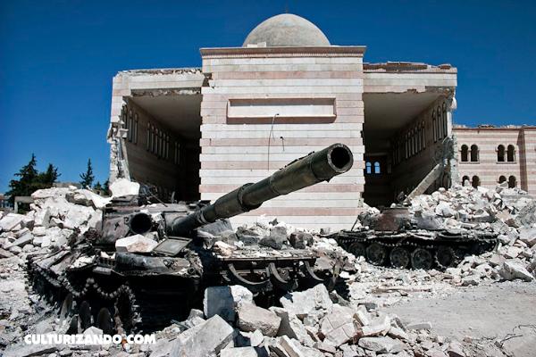 En Imágenes: la terrorífica Guerra de Siria