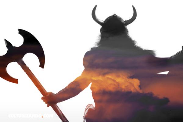 Hallan la tumba de un jefe vikingo con su espada y su perro