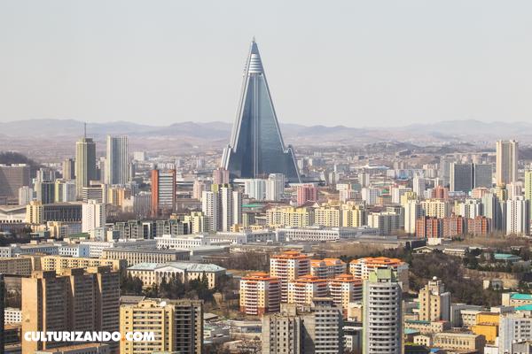 Conoce el Hotel Ryugyong, el hotel fantasma de Corea del Norte