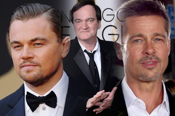¡La tríada legendaria! Quentin Tarantino, Leonardo DiCaprio y Brad Pitt