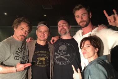 Los Avengers originales se tatúan para celebrar