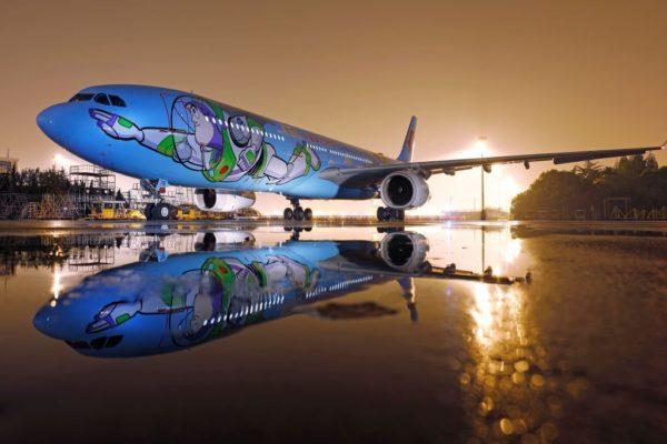¿Te montarías en el nuevo avión de Toy Story?