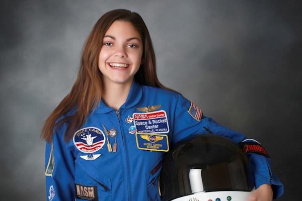 Alyssa Carson: Se prepara para ir a Marte con 17 años