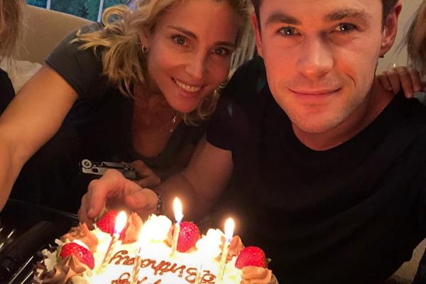 Mira cómo felicitaron a Chris Hemsworth en su cumpleaños