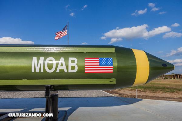 """Así es la """"Madre de Todas las Bombas"""" creada por Estados Unidos"""