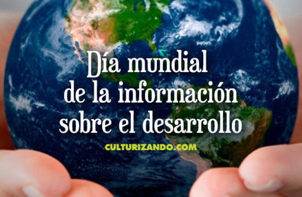 Hoy es el Día Mundial de Información sobre el Desarrollo