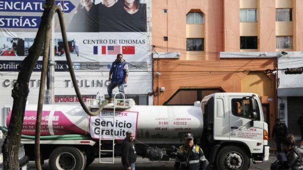 ¿Qué está pasando con el agua en Ciudad de México?