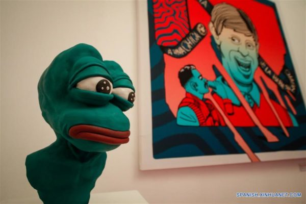 """FOTOS: Abren un """"Museo de Memes"""" en Ciudad de México"""
