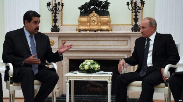 Maduro llega a Rusia para reunirse con Putin