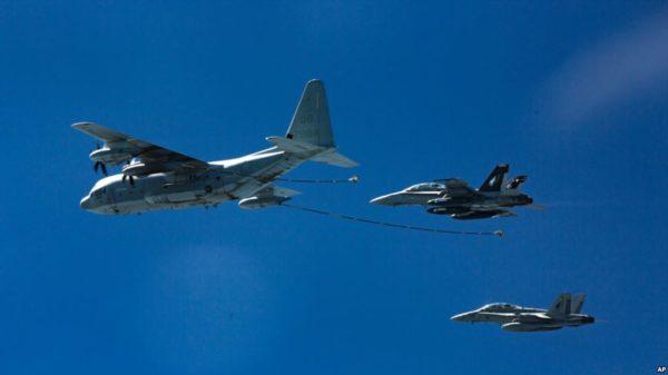 Chocan 2 aviones militares estadounidenses en Japón: 5 desaparecidos