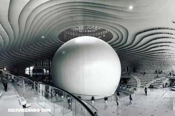 5 bibliotecas modernas en Asia que querrás visitar