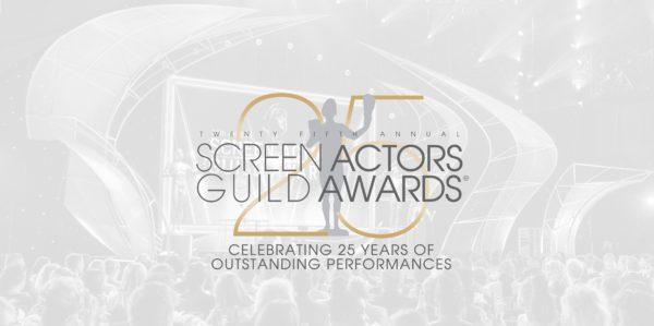 Lista de nominados para la 25ª edición anual de los SAG Awards