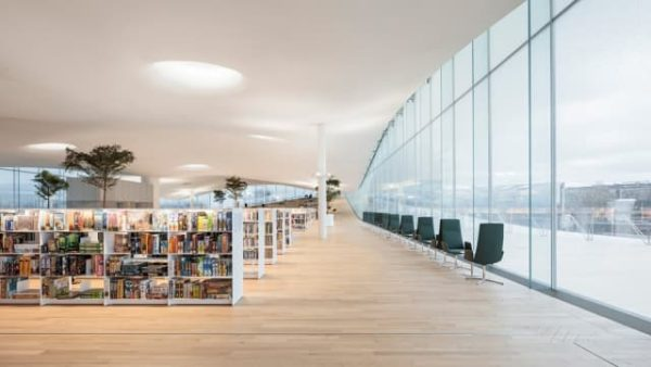 La biblioteca del futuro en el país más feliz del mundo
