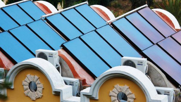 La calefacción solar puede reducir hasta el 70% el impacto sobre el cambio climático respecto a las de gas