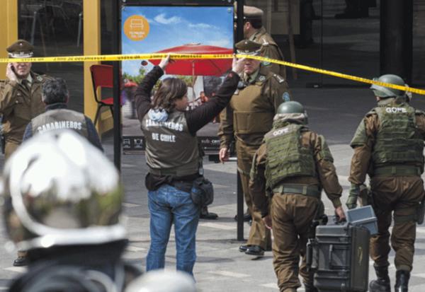 Atentado explosivo en Chile