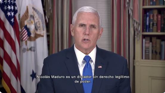 """EE.UU.: """"Venezuela estamos con ustedes"""" hasta restaurar la democracia"""