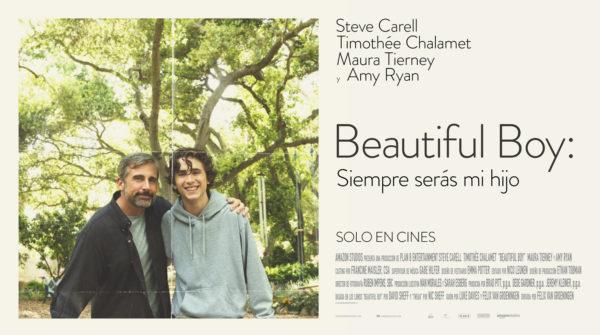 'Beautiful Boy: Siempre serás mi hijo' nos muestra la increíble dupla de Carell y Chalamet (+Tráiler)