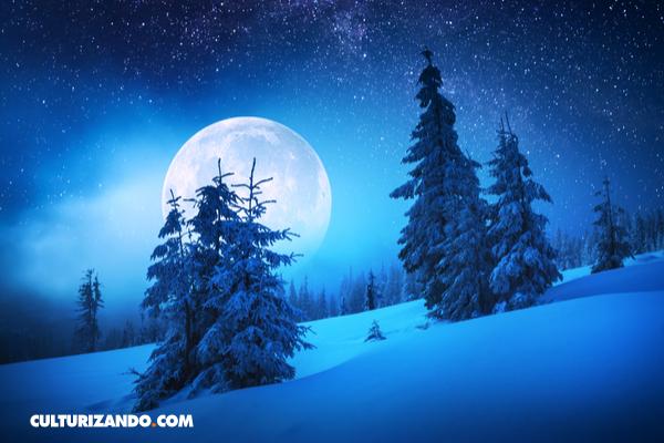 La 'luna de nieve', ¿de qué se trata este fenómeno?