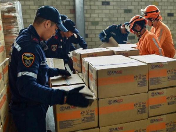 ¿En qué consiste la ayuda humanitaria de Estados Unidos?