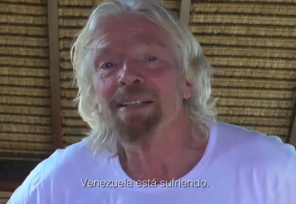 Richard Branson anuncia concierto en la frontera para ayudar a Venezuela