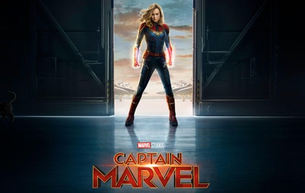 'Captain Marvel' rompe récords en taquilla