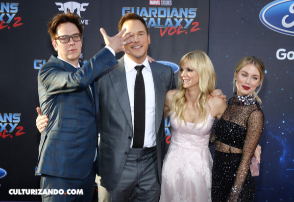 Disney reincorpora a James Gunn para Guardians of the Galaxy 3