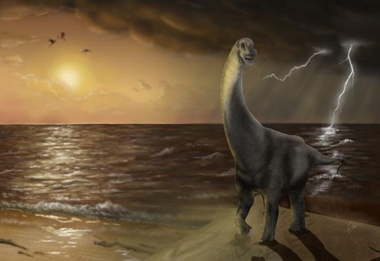 'Oceanotitan', un nuevo dinosaurio del Jurásico Superior de Portugal