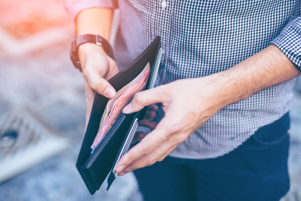 Cuanto más dinero lleva una cartera perdida, más probable es que la devuelvas