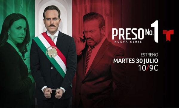 """""""PRESO NO. 1"""", el nuevo drama político de Telemundo, de los productores de """"La Reina del Sur"""""""