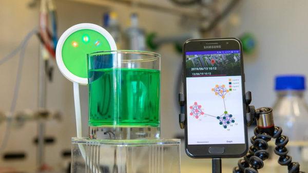 Una 'lengua' electrónica identifica tipos de líquido con inteligencia artificial