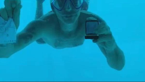 ¡Trágico! Murió ahogado tras intentar pedirle matrimonio a su novia bajo el agua