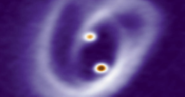 Observan por primera vez cómo se forman las estrellas gemelas