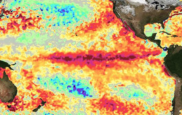 Un nuevo modelo climático predice episodios de El Niño a largo plazo
