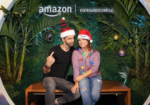 Adamari López y Toni Costa dan comienzo a la temporada festiva de Amazon y lanzan su guía de regalos personalizada