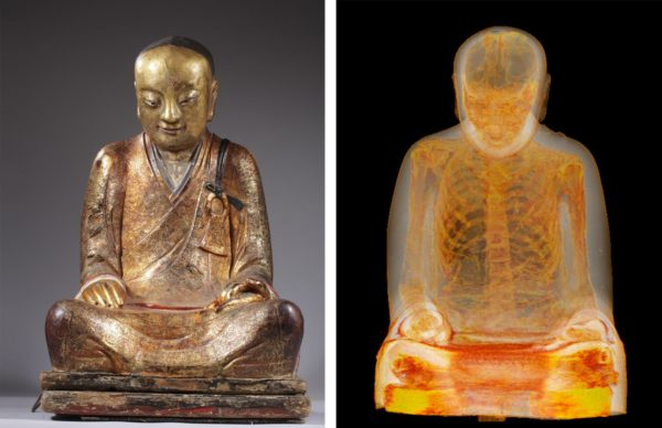La ciencia nos ayuda a ver que hay estatuas con huesos