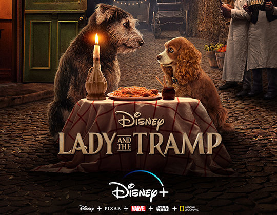 'Lady and the Tramp' cobra vida en Disney+