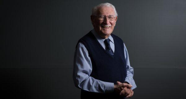 Eddie Jaku se siente el hombre más feliz del mundo por haber sobrevivido el Holocausto