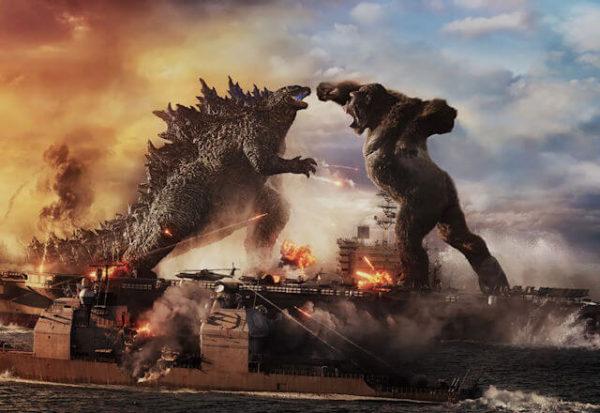 Godzilla vs Kong, un épico enfrentamiento de dos colosos