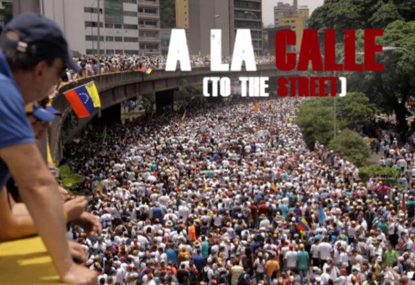 'A la calle', un relato crudo de la realidad venezolana