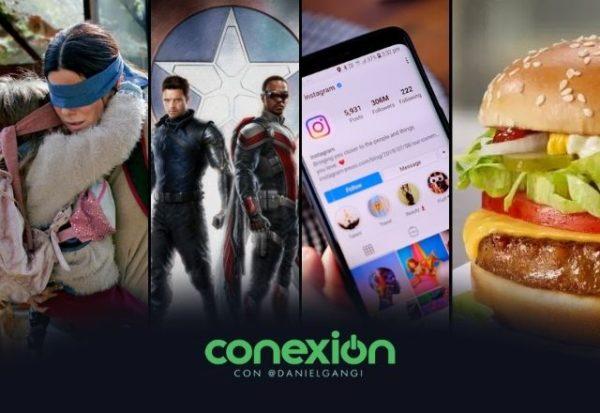 Conexión: Netflix fuera de Netflix, Instagram para niños y McDonald's 'vegana'