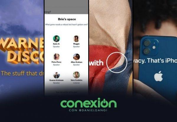 Conexión: Nace 'Warner Bros. Discovery' y Apple golpea a Facebook donde más le duele