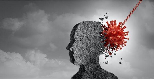 La hipótesis del doble golpe y la microglía condicionada para explicar por qué afecta la covid-19 al cerebro