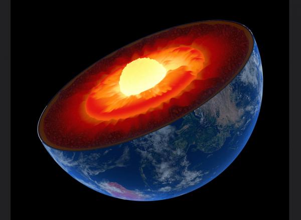 Por qué el núcleo de la Tierra está creciendo más en un lado que en el otro
